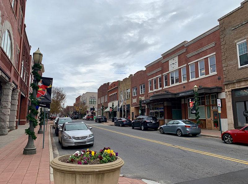Downtown Rock Hill South Carolina
